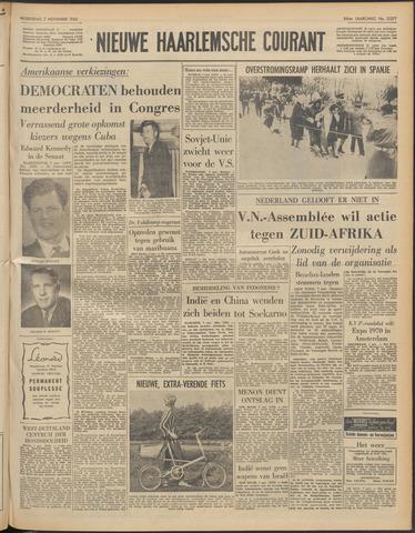 Nieuwe Haarlemsche Courant 1962-11-07