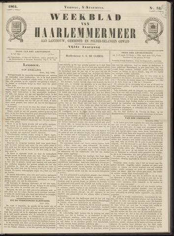 Weekblad van Haarlemmermeer 1864-08-05