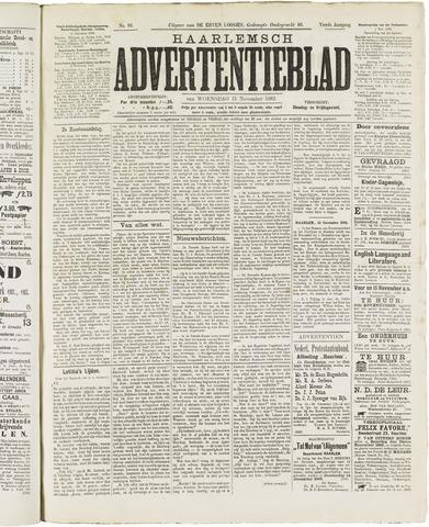 Haarlemsch Advertentieblad 1882-11-15