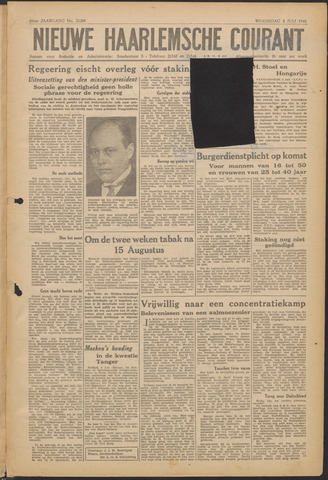 Nieuwe Haarlemsche Courant 1945-07-04