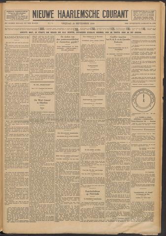 Nieuwe Haarlemsche Courant 1930-09-26