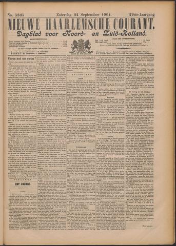 Nieuwe Haarlemsche Courant 1904-09-24