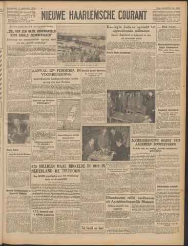 Nieuwe Haarlemsche Courant 1950-01-09
