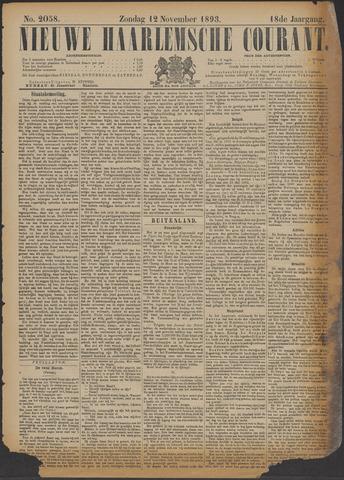 Nieuwe Haarlemsche Courant 1893-11-12