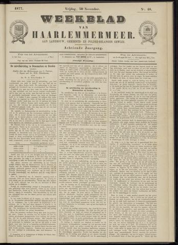 Weekblad van Haarlemmermeer 1877-11-30