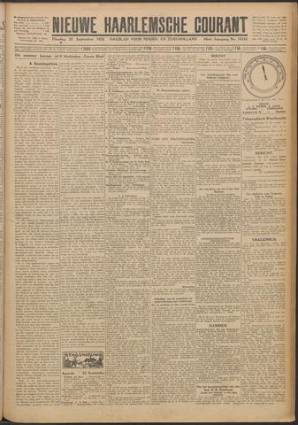 Nieuwe Haarlemsche Courant 1925-09-22