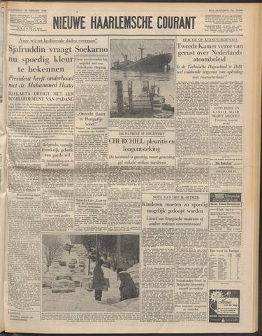 Nieuwe Haarlemsche Courant 1958-02-20