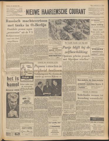 Nieuwe Haarlemsche Courant 1961-10-27