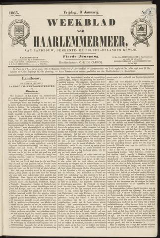 Weekblad van Haarlemmermeer 1863-01-09
