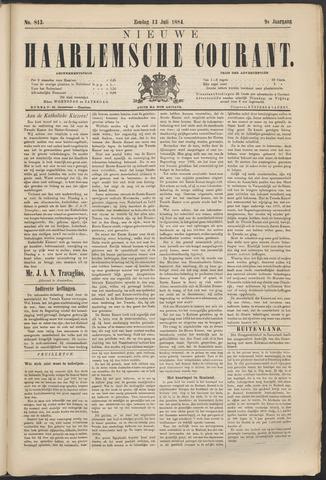 Nieuwe Haarlemsche Courant 1884-07-13