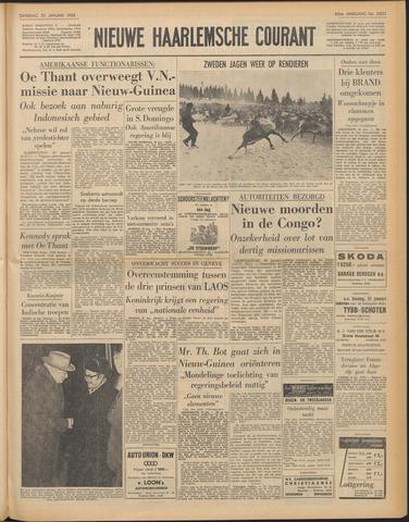 Nieuwe Haarlemsche Courant 1962-01-20