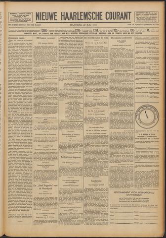 Nieuwe Haarlemsche Courant 1931-07-20