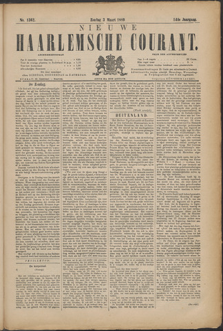 Nieuwe Haarlemsche Courant 1889-03-03