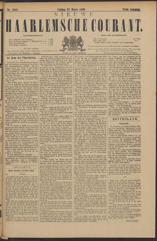 Nieuwe Haarlemsche Courant 1896-03-27