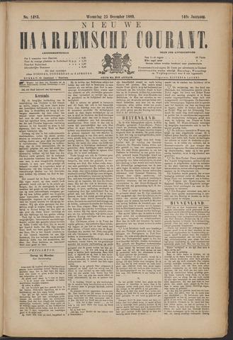Nieuwe Haarlemsche Courant 1889-12-25