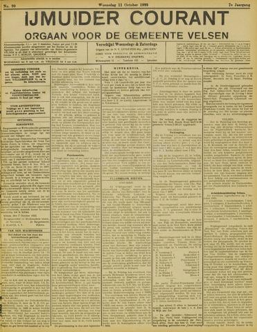 IJmuider Courant 1922-10-11