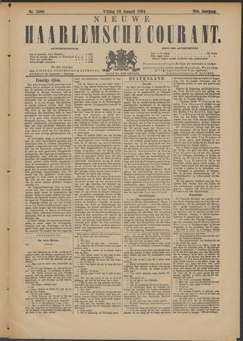 Nieuwe Haarlemsche Courant 1894-01-26