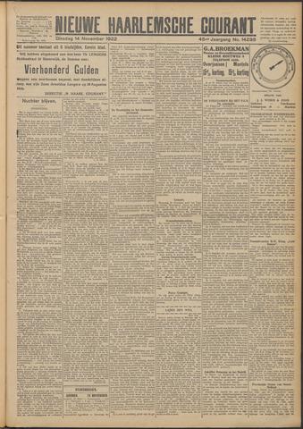 Nieuwe Haarlemsche Courant 1922-11-14