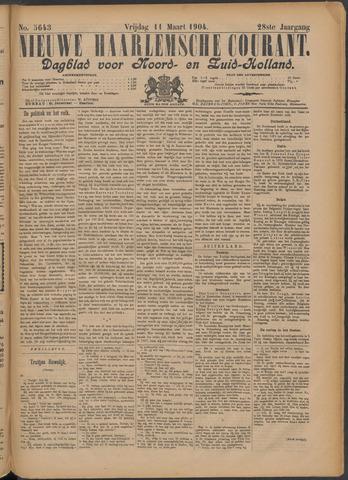 Nieuwe Haarlemsche Courant 1904-03-11