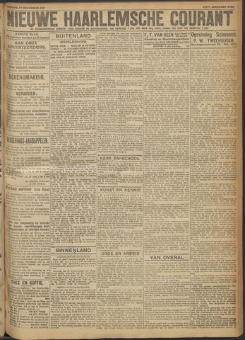 Nieuwe Haarlemsche Courant 1917-11-27