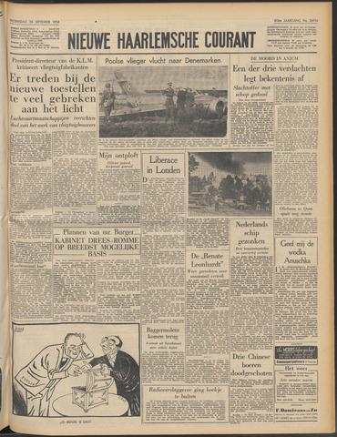 Nieuwe Haarlemsche Courant 1956-09-26
