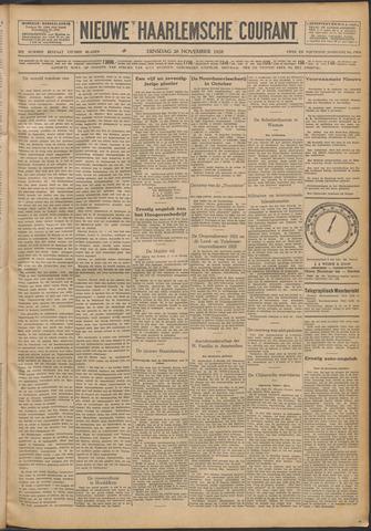 Nieuwe Haarlemsche Courant 1928-11-20