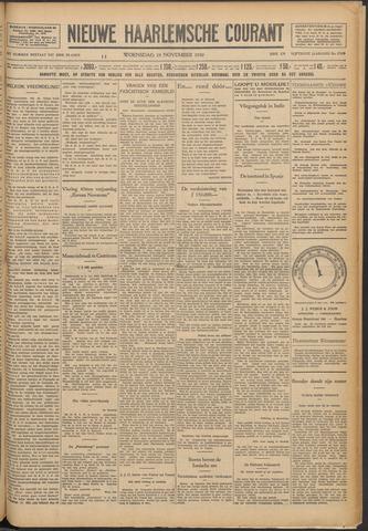 Nieuwe Haarlemsche Courant 1930-11-19