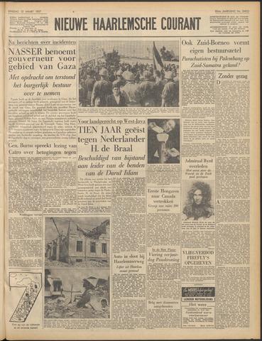 Nieuwe Haarlemsche Courant 1957-03-12