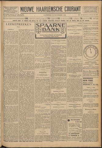 Nieuwe Haarlemsche Courant 1930-11-29