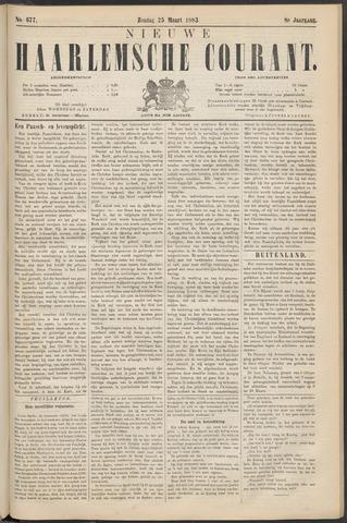 Nieuwe Haarlemsche Courant 1883-03-25