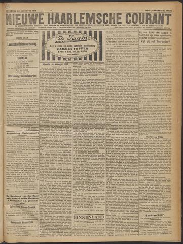 Nieuwe Haarlemsche Courant 1919-08-30