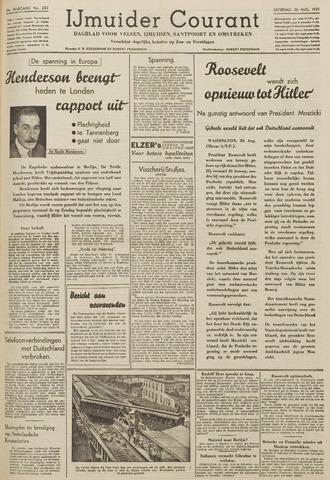IJmuider Courant 1939-08-26