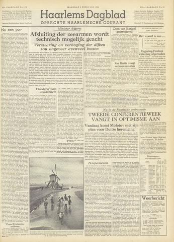 Haarlem's Dagblad 1954-02-01