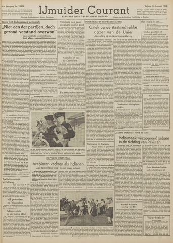 IJmuider Courant 1948-01-16
