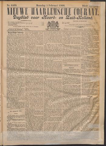 Nieuwe Haarlemsche Courant 1900-02-05