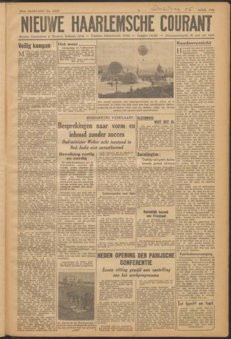 Nieuwe Haarlemsche Courant 1946-04-25