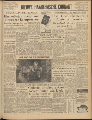 Nieuwe Haarlemsche Courant 1962-03-07