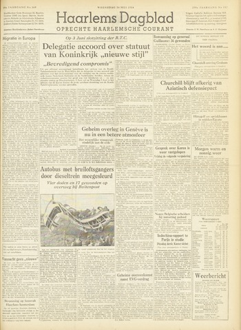 Haarlem's Dagblad 1954-05-26