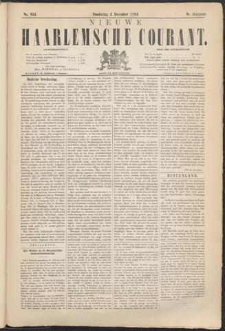 Nieuwe Haarlemsche Courant 1884-12-04