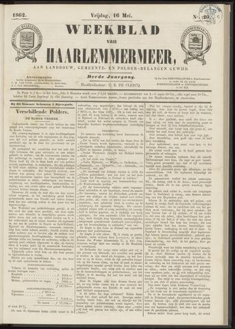 Weekblad van Haarlemmermeer 1862-05-16