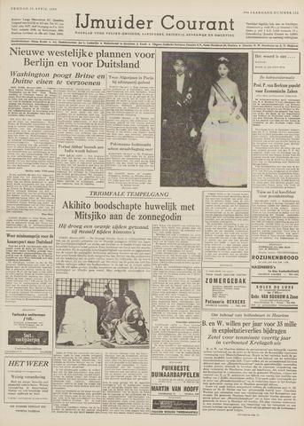 IJmuider Courant 1959-04-10
