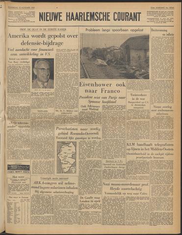 Nieuwe Haarlemsche Courant 1959-11-12