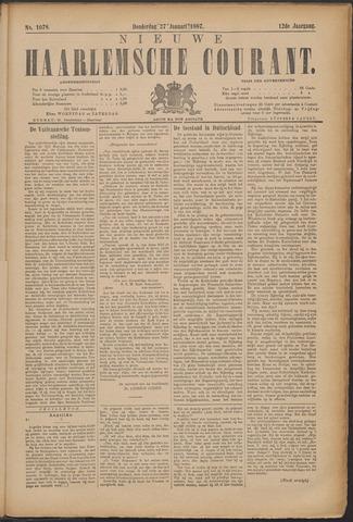 Nieuwe Haarlemsche Courant 1887-01-27