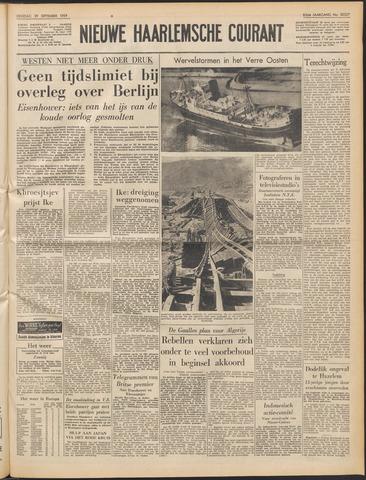 Nieuwe Haarlemsche Courant 1959-09-29