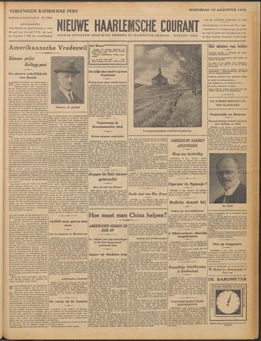 Nieuwe Haarlemsche Courant 1932-08-10