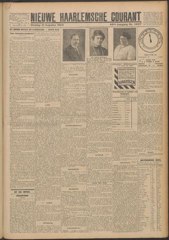 Nieuwe Haarlemsche Courant 1923-08-21