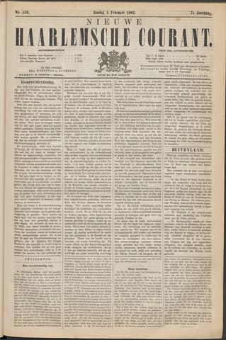 Nieuwe Haarlemsche Courant 1882-02-05