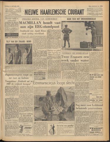 Nieuwe Haarlemsche Courant 1962-09-15