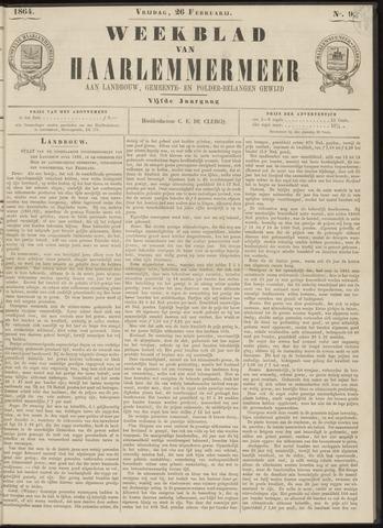 Weekblad van Haarlemmermeer 1864-02-26