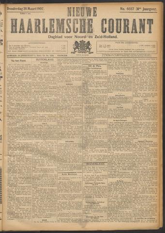 Nieuwe Haarlemsche Courant 1907-03-28